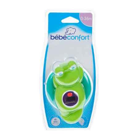 """Купить Bebe Confort Электронный термометр Bebe Confort для измерения температуры воды в ванной """"Лягушонок"""" Зеленый/Голубой"""