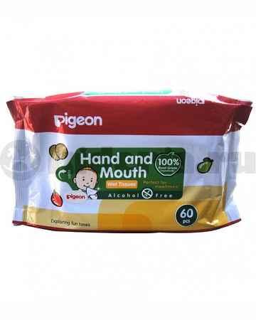 Купить Pigeon Салфетки влажные детские, с рождения