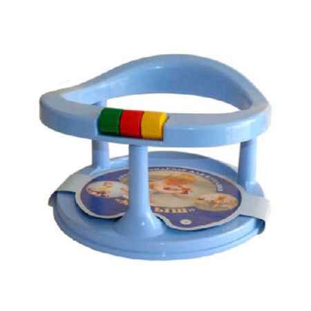 Купить Полимербыт Сидение детское для купания Полимербыт на присосках цвет - Голубой