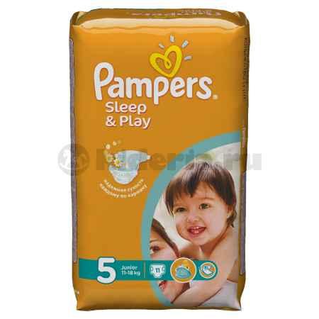 Купить Pampers Подгузники Sleep & Play Junior, 11-18 кг