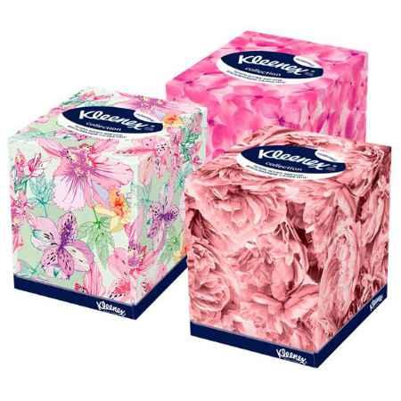 Купить Kleenex Бумажные салфетки Kleenex COLLECTION 2-х слойные 100 шт