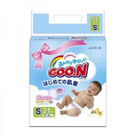 Купить GooN Подгузники Goon Mini Pack 4-8 кг (21 шт) Размер S
