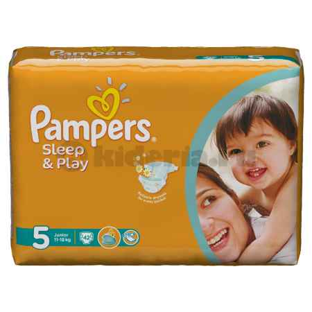 Купить Pampers Подгузники Sleep & Play Junior, 11-18 кг