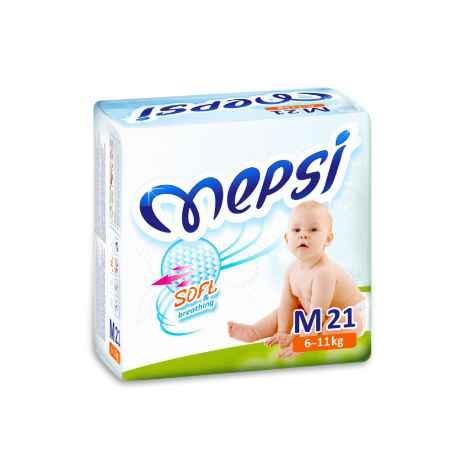 Купить Mepsi Подгузники Mepsi 6-11 кг (21 шт) Размер M