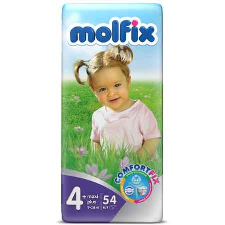 Купить Molfix Подгузники Molfix Maxi 9-20 кг. (54 шт.) Размер 4+
