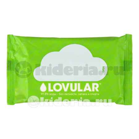 Купить Lovular Влажные салфетки