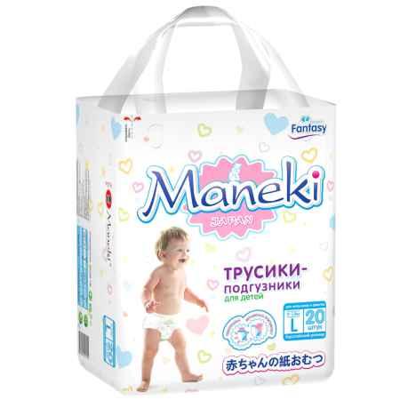 Купить Maneki Трусики Maneki Fantasy Mini 9-14 кг (20 шт) Размер L