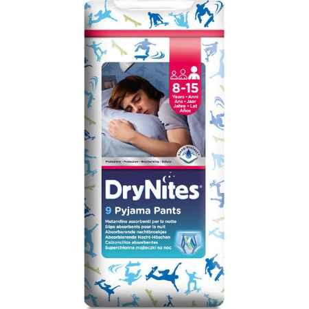 Купить Huggies Трусики Huggies DryNites ночные для мальчиков от 8-15 лет 27-57 кг (9 шт)