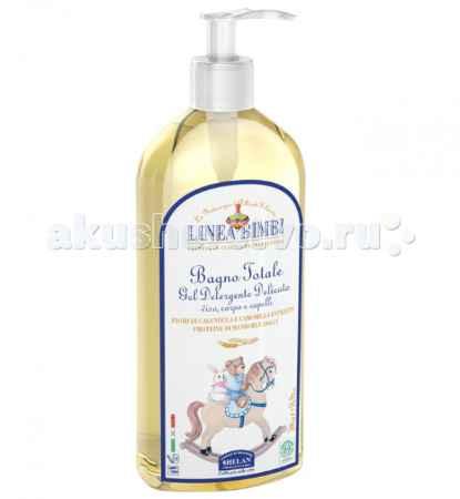 Купить Helan Linea Bimbi Детский шампунь-гель для волос и тела 500 мл
