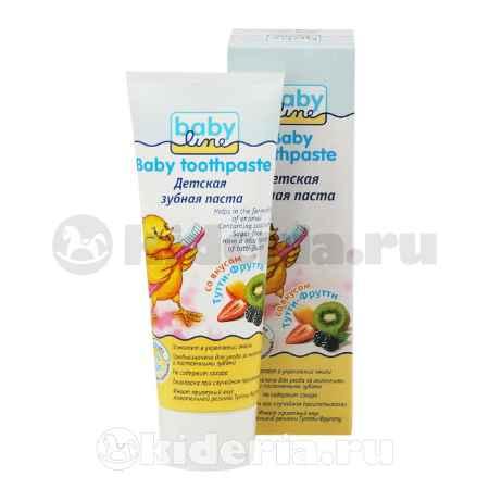Купить Babyline Паста зубная с 2 лет, Тутти-Фрутти