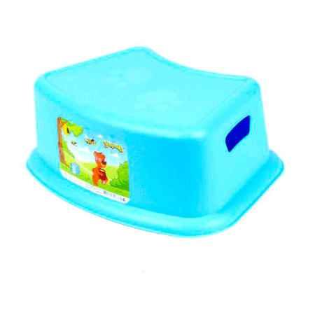 Купить Бытпласт Табурет-подставка Бытпласт цвет - Голубой