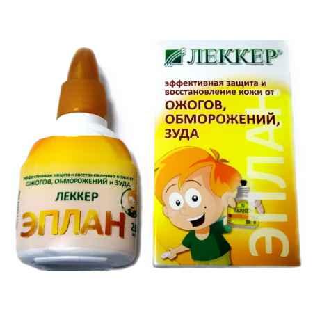Купить Lekker Антисептическое средство Lekker Эплан (от ожогов и обморожений)