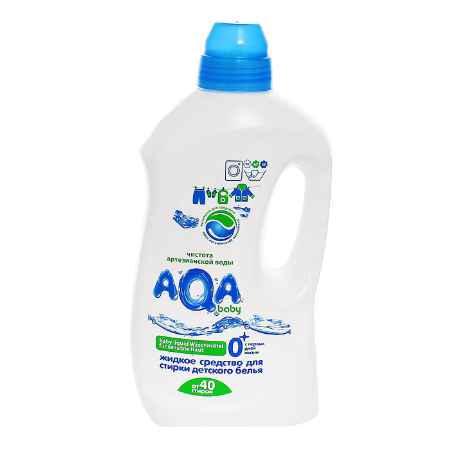 Купить AQA baby Жидкое средство AQA baby Аква Беби для стирки детского белья 1500 мл Все виды стирки