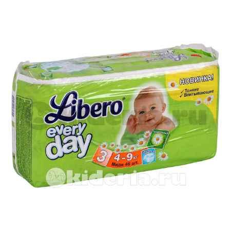 Купить Libero Подгузники EveryDay Midi 3 (4-9 кг)