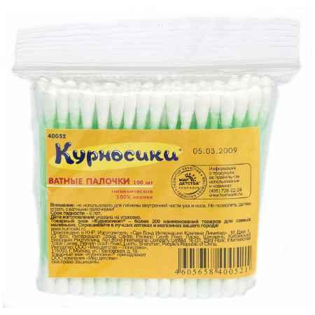 Купить Курносики Ватные палочки Курносики 100 шт. (пакет)