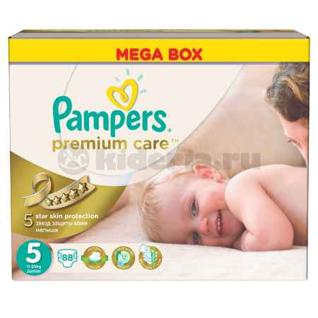 Купить Pampers Подгузники Premium Care Junior, 11-25 кг