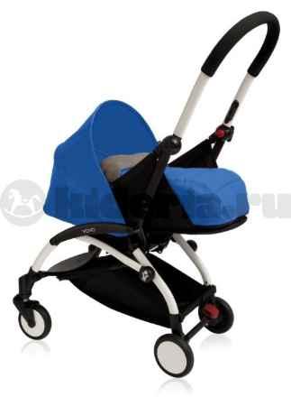 Купить BabyZen Прогулочная коляска  YOYO 0+, белая рама