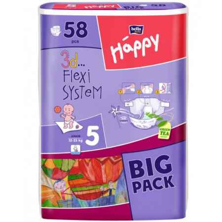Купить Bella Baby Happy Подгузники Bella Baby Happy Junior 12-25 кг (58 шт)