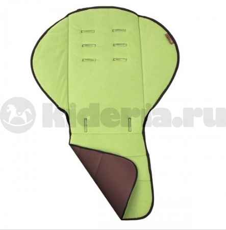 Купить Mountain Buggy Двусторонняя флисовая накидка на сидение Mountain Buggy Fleece Liner, Choco/Moss