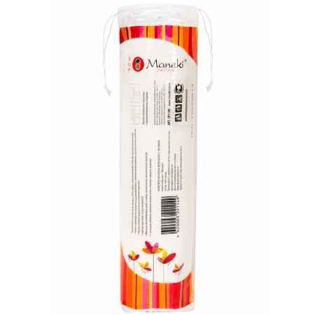 Купить Maneki Диски ватные косметические с тиснением Maneki Lovely 100 шт