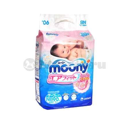 Купить Moony Подгузники New Born до 5 кг