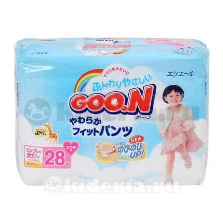 Купить Goon Подгузники-трусики для девочек 13-25 кг