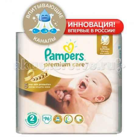 Купить Pampers Подгузники Premium Care Newborn р.1 (2-5 кг) 108 шт.