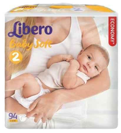 Купить Libero Подгузники Newborn (3-6 кг) 94  шт.