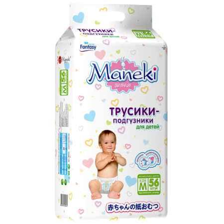 Купить Maneki Трусики Maneki Fantasy 6-11 кг 56 шт Размер M