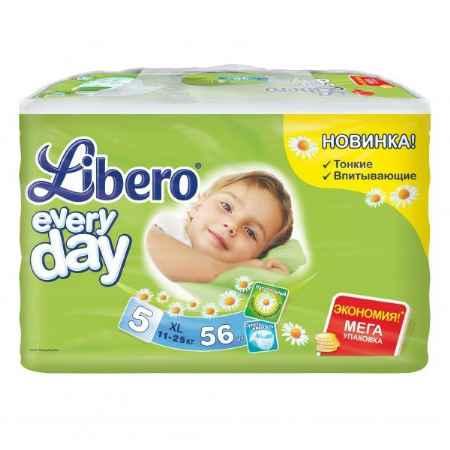 Купить Libero Подгузники Libero Everyday Natural с ромашкой Extra large 11-25 кг (56 шт) Размер XL
