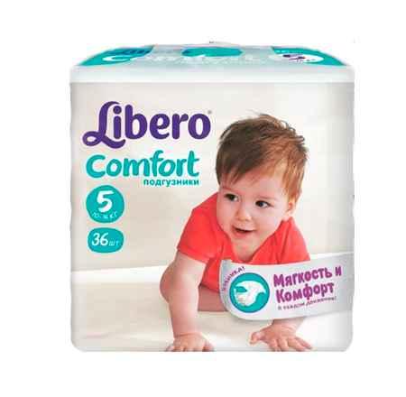 Купить Libero Подгузники Comfort (10-16 кг) 36 шт.