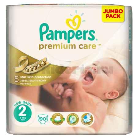 Купить Pampers Подгузники Premium Care с алоэ, 3-6 кг