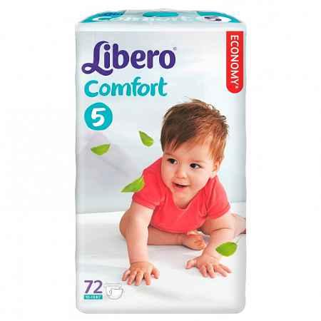 Купить Libero Подгузники Libero Comfort Fit Maxi 10-16 кг (72 шт) Размер 5