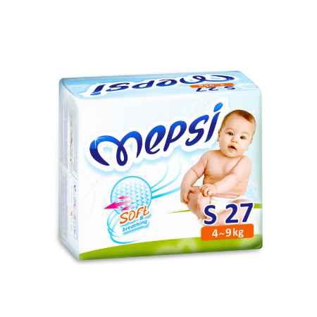 Купить Mepsi Подгузники Mepsi 4-9 кг (27 шт) Размер S