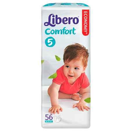 Купить Libero Подгузники Comfort 5 (10-16 кг) 56 шт.