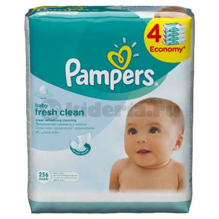 Купить Pampers Влажные салфетки Baby Fresh Clean