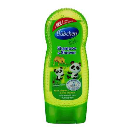"""Купить Bubchen Bubchen Kids Шампунь для волос и тела """"Бамбуковая панда"""" 230 мл"""