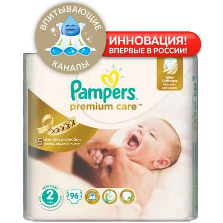 Купить Pampers Подгузники Pampers Premium Care Mini 3-6 кг (96 шт) Размер 2