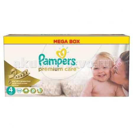 Купить Pampers Подгузники Premium Care Maxi р.4 (7-14 кг) 104 шт.