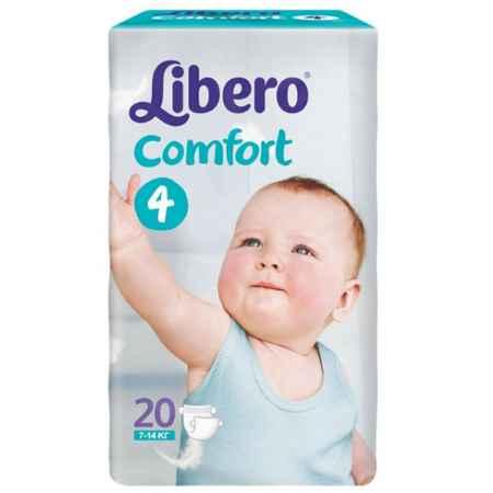 Купить Libero Подгузники Libero Comfort Maxi 7-14 кг (20 шт) Размер 4