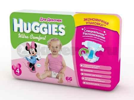 Купить Huggies Подгузники Ultra Comfort для девочек, 8-14 кг