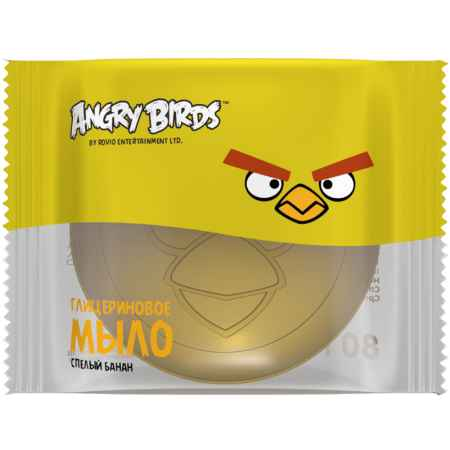Купить Angry Birds Мыло глицериновое Angry Birds 200 мл. (с 6 лет) Спелый банан