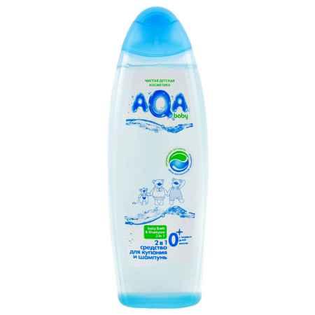 Купить AQA baby Средство для купания AQA baby Аква Беби и шампунь 2 в 1 500 мл.