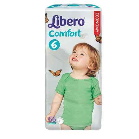 Купить Libero Подгузники Libero Comfort Fit Maxi 12-22 кг (66 шт) Размер 6