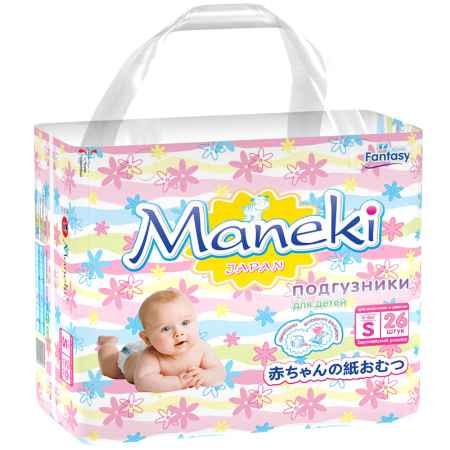 Купить Maneki Подгузники Maneki Fantasy Mini 4-8 кг (26 шт) Размер S
