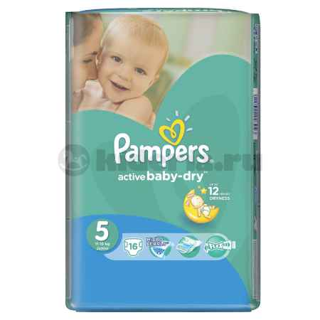 Купить Pampers Подгузники Active Baby Junior 11-18 кг