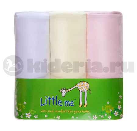 Купить Little me LITTLE ME, Пеленка тонкая трикотаж для девочки*