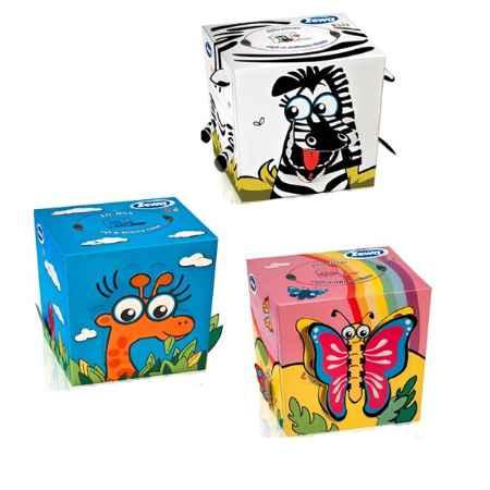 Купить Zewa Зева Бумажные салфетки  ZeWa Kids 3-х слойные 60 шт