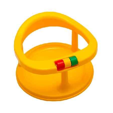 Купить Полимербыт Сидение детское для купания Полимербыт на присосках цвет - Желтый