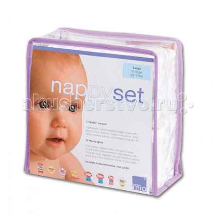 Купить Bambino Mio Комплект Nappy set Large (9-12 кг)